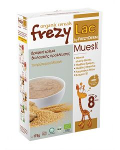 Frezylac Organic Cereals Muesli 175 gr