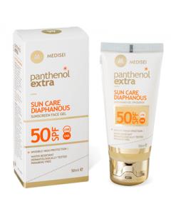 Panthenol Extra Sun Care Diaphanous Face Gel SPF50 50 ml