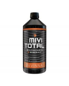 Hela Mivitotal Multivitamin & Minerals Kvinna (Woman) 1 lt