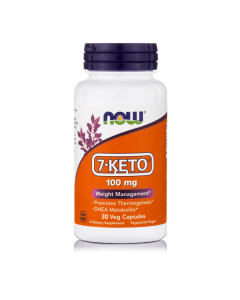 Now 7-Keto 100 mg (DHEA) 30 Vcaps