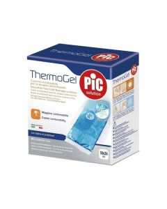 Pic Solution Thermogel reusable hot/cold therapy cushion with protective cover 10 x 26 cm