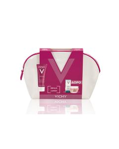 Vichy Idealia sorbet-cream oily-combination skin 50 ml & Mineral 89 5 ml & Masque Peel Double Eclat 15 ml