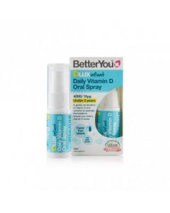 BetterYou Dlux Infant Vitamin D oral spray 400 IU 15 ml