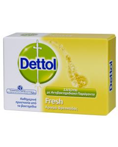 Dettol Αντιβακτηριδιακές Μπάρες Σαπουνιού Fresh 100gr