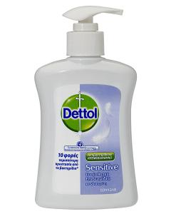 Dettol Αντιβακτηριδιακό Υγρό Κρεμοσάπουνο Sensitive 250ml