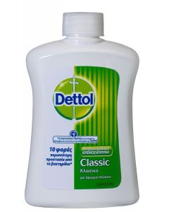 Dettol Ανταλλακτικό Υγρό Κρεμοσάπουνο Classic 250ml