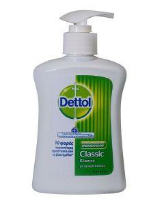 Dettol Αντιβακτηριδιακό Υγρό Κρεμοσάπουνο Classic 250ml