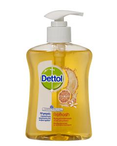 Dettol Αντιβακτηριδιακό Υγρό Κρεμοσάπουνο Αναζωογονητικό 250ml