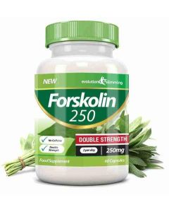 Evolution Slimming Forskolin 250 mg Double Strength 60 caps