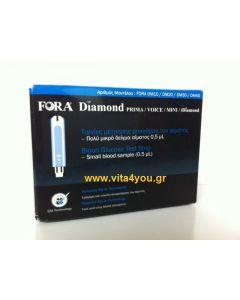 Fora Diamond Ταινίες Μέτρησης Σακχάρου 50 τμχ