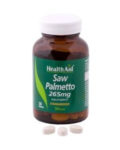 Health Aid Saw Palmetto standardised  30 tabs