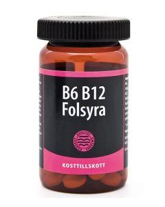 Hela B6 B12 Folsyra 90 tabs