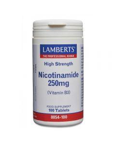 Lamberts Nicotinamide 250 mg 100 tabs