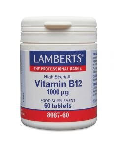Lamberts B12 1000 mcg 60 tabs