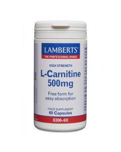 Lamberts L-Carnitine 500 mg 60 caps