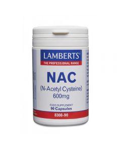 Lamberts NAC N-Acetyl Cysteine 600mg 90 caps