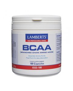 Lamberts BCAA Branch Chain Amino Acids 180 caps