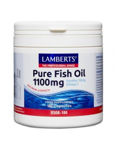 Lamberts Pure Fish Oil 1100mg 180 caps