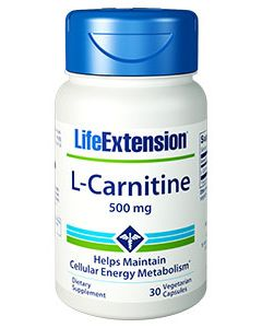 Life Extension L-Carnitine 500 mg 30 caps