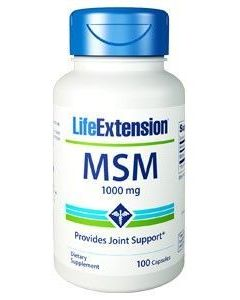 Life Extension MSM 1000 mg 100 caps