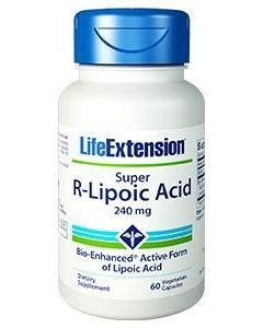 Life Extension Super R-Lipoic Acid 300 mg 60 veg. caps