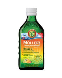 Moller's Cod Liver Oil Tutti Frutti 250 ml