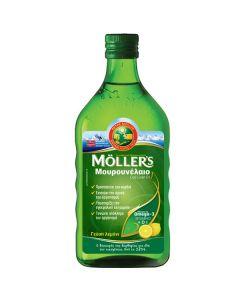Moller's Cod Liver Oil Lemon 250 ml