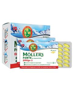 Moller's Omega-3 Forte 150 caps