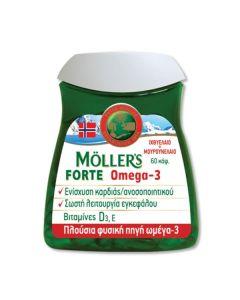 Moller's Omega-3 Forte 60 caps