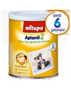Milupa Aptamil 2 για βρέφη Aπό τον 6ο μήνα 900gr