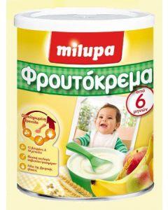 Milupa Φρουτόκρεμα από τον 6ο μήνα 300 gr