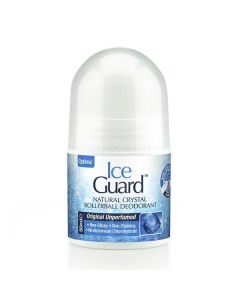 Optima Ice Guard Natural Crystal Rollerball Deodorant 50 ml