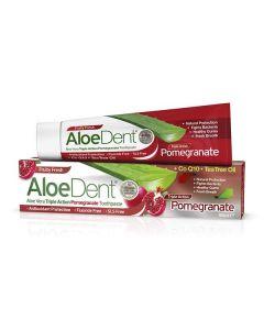Optima Aloe Dent Triple Action Pomegranate Fruity Fresh Toothpaste 100 ml