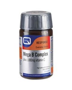 Quest Mega B Complex 50 mg plus C 1000 mg 60 tabs