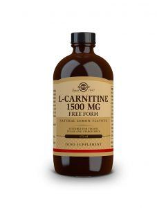 Solgar L-Carnitine 1500 mg Liquid lemon flavour 473 ml