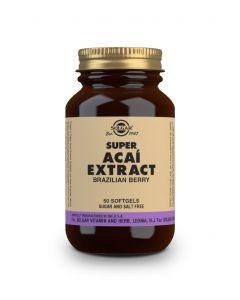 Solgar Super Acai extract 50 softgels