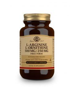 Solgar L-Arginine-L-Ornithine 500/250 mg 50 veg.caps