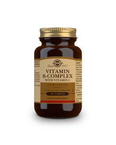 Solgar Vitamin B-Complex with Vitamin C 100 tabs