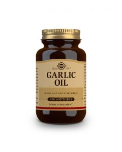 Solgar Garlic Oil 100 softgels