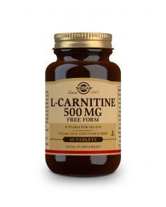 Solgar L-Carnitine 500 mg 60 tabs