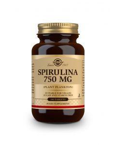Solgar Spirulina 750 mg 100 tabs