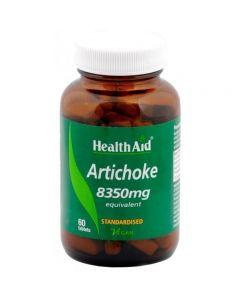 Health Aid Artichoke 8350mg - Standardised 60 tabs