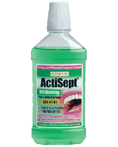 Intermed Actisept Whitening Mouthwash  500 ml