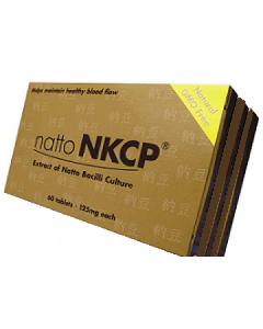 Natto NKCP 125 mg 3 x 60 tabs