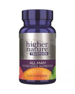 Higher Nature True Food All Man Food State Nutrition 30 caps