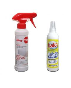 Allerg-Stop Repellent spray 500 ml & Halo Fabric Refresher spray 150 ml