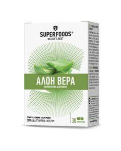 Superfoods Aloe Vera 30 caps