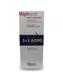 Item Alphactif lotion Anti-chute 100 ml 1+1 Free