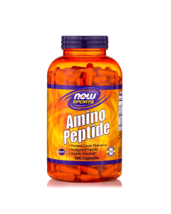 Now Amino Peptide 400 mg 300 caps