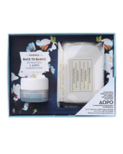 Korres Back to Basics Almond Blossom Cream normal-dry 40 ml & Free Face Wipes Milk proteins 25 pcs